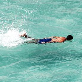 Swimming in Galapagos