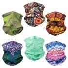Moisture-wicking scarf