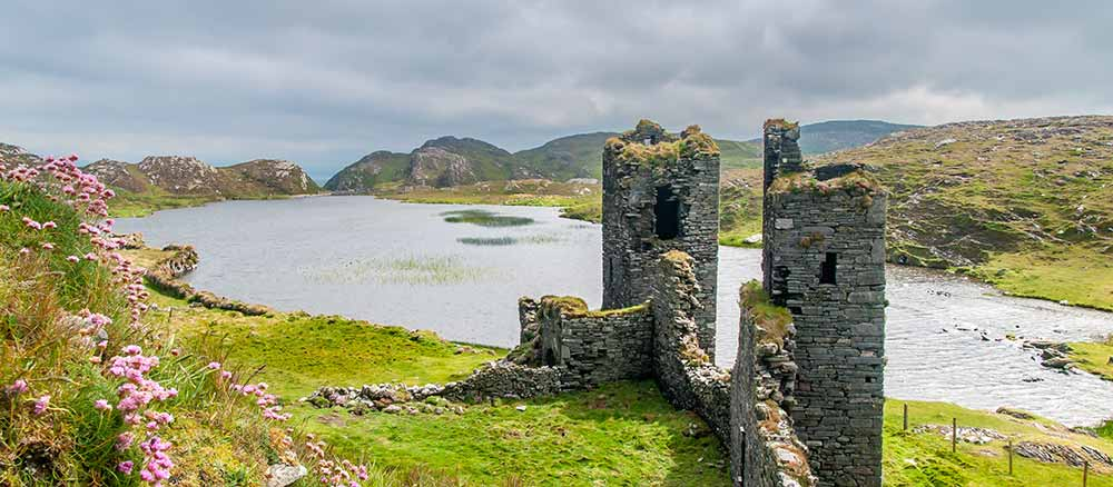 old castle in ireland