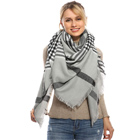 Travel blanket scarf