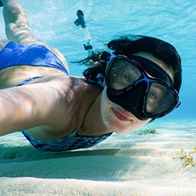 snorkeling bahamas