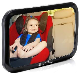 So Peep Shatterproof Baby Backseat Mirror
