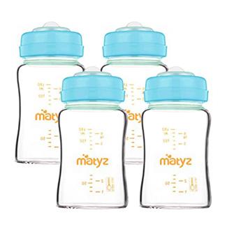 Matyz Wide Mouth Glass Baby Bottle