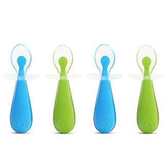 Munchkin 4 Piece Silicone Trainer Spoon