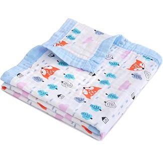 Jay & Ava Baby Muslin Blanket
