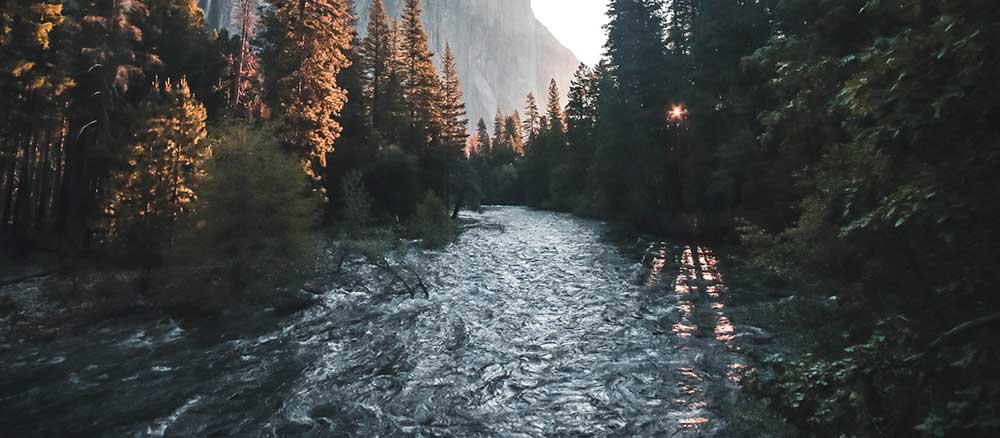 River for a float trip