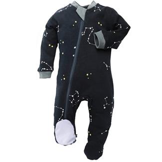 ZippyJamz Organic Footed Pajamas