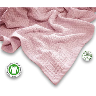Zoog Organic Cotton Toddler Blanket