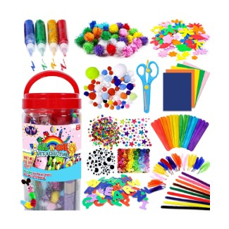 FunzBo Arts and Crafts Supplies for Kids