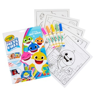 Crayola Baby Shark Wonder Pages