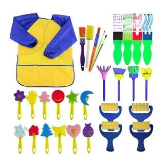 Evneed Paint Sponges for Kids