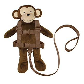 Goldbug - Animal 2 in 1 Child Safety Harness - Monkey