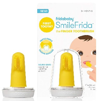 Fridababy SmileFrida Baby's First Toothbrush with Case