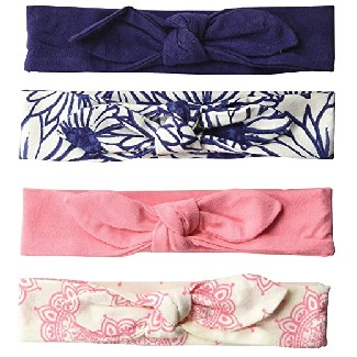 Touched by Nature Baby Girl Organic Cotton Headbands
