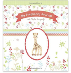 Pregnancy journal with Giraffe cover