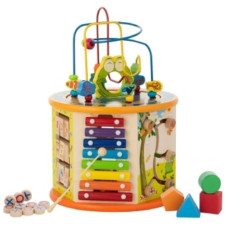 8-in-1 Activity Cube