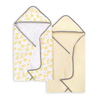 Burt's Bees Baby Hooded Towel Set