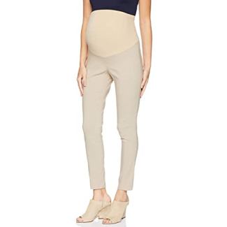 Motherhood Maternity Women's Super Stretch Secret Fit Belly Ankle Skinny Work Pant