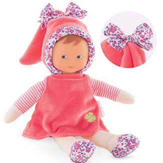 Corolle mon doudou Miss Floral Bloom Toy Baby Doll, Pink
