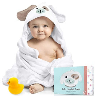 FOREVERPURE Baby Hooded Towel
