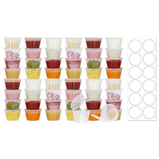 Tovla BPA-Free Baby Food Freezer Storage Containers
