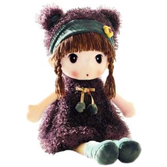 HWD Kawaii 17 inch Stuffed Plush Girl Toy Doll