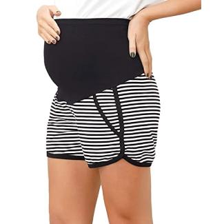 Maacie Full Panel Maternity Shorts