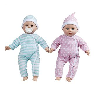Melissa & Doug Luke and Lucy Twin Baby Dolls