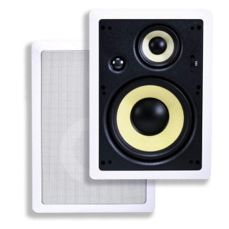 Monoprice 3-Way Fiber In-Wall Speakers