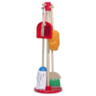 Pretend Play with a Montessori Sweep & Mop Set