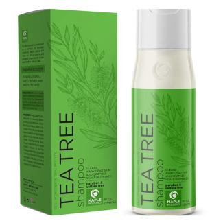 Pure Tea Tree Shampoo for Dandruff and Itchy Scalp