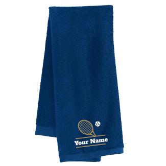 Personalized Custom Tennis Towel