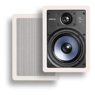 Polk Audio RC65i 2-way Premium In-Wall 6.5 Speakers
