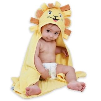 Sunny zzzZZ Premium Organic Bamboo Hooded Baby Towel