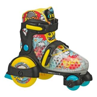 kemi Adjustable Roller Skates for Girls Kids Boys with Light up Wheels