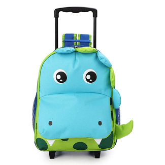 Toddler Rolling Backpack with Wheels