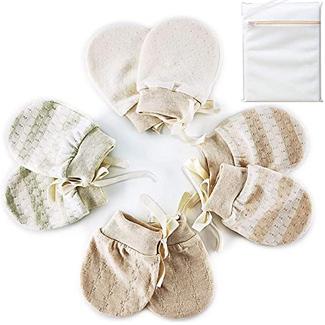 Sancheng Organic Baby Mittens