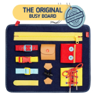 Stimulate the Senses with a Busy Board
