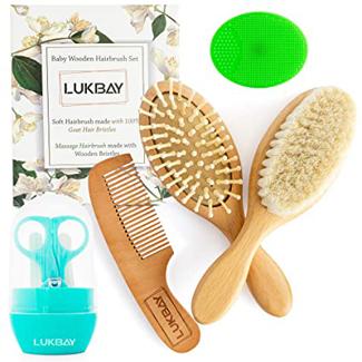 Lukbay Toddler Hair Brush Comb Set