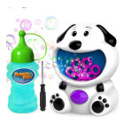 Play with a Bubble Machine