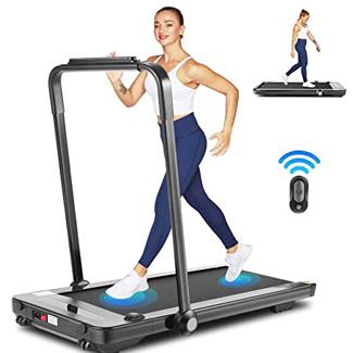 Fioleken 2-in-1 Under Desk Treadmill