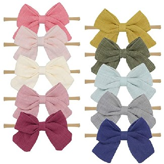 Fancy Clouds Baby Girl Headbands and Bows