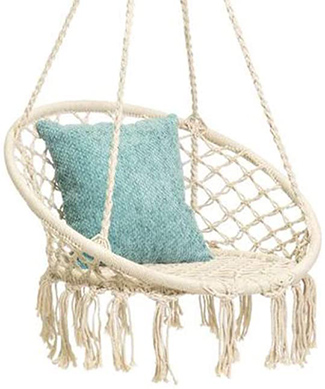 cotton hammock swing