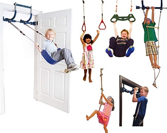 indoor playground gym swing