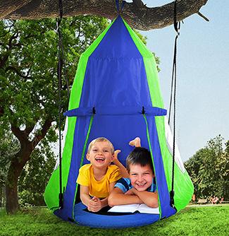 waterproof tent swing