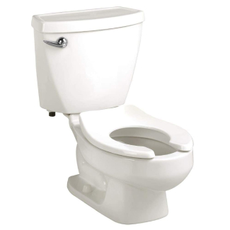 American Standard Baby Devoro Flowise 10-inch High Round Front Toilet