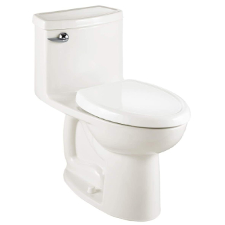 American Standard Compact Cadet-FloWise Tall Height, Single Flush Elongated Toilet