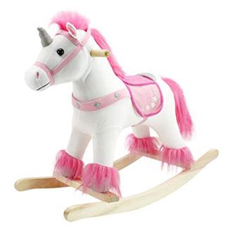 Real Wood Ride-On Unicorn