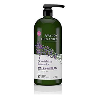 Avalon Organics Nourishing Lavender Body Wash and Shower Gel
