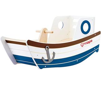 Award Winning Hape High Seas Wooden Toddler Rocking Ride On